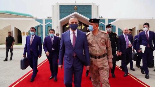 الكاظمي يغادر الى السعودية على رأس وفد حكومي لبحث العلاقات الثنائية