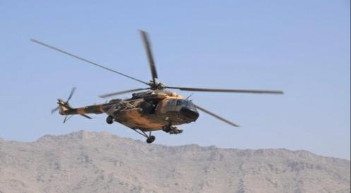 مقتل 3 أشخاص جراء تحطم مروحية عسكرية في جنوب أفغانستان
