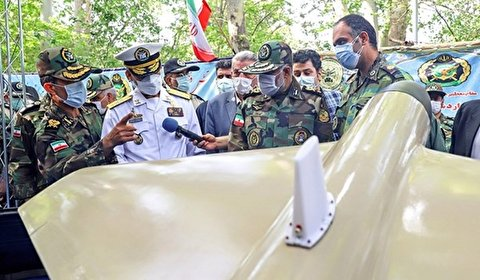 صورة: الجيش الايراني ينتج مسيّرة ذات قابليات فريدة