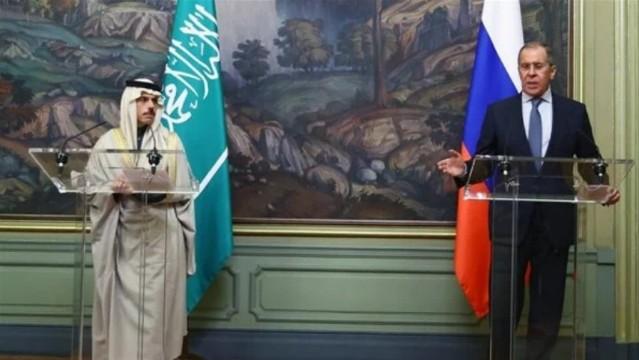 وزير الخارجية الروسي يعقد اجتماعا مع نظيره السعودي في نيويورك