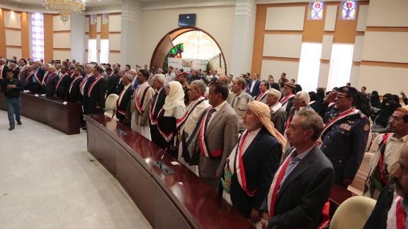فعالية خطابية لحكومة صنعاء إحتفاء بالذكرى الـ 59 لثورة 26 سبتمبر