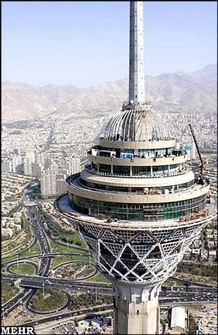 عکس از برج میلاد تهران