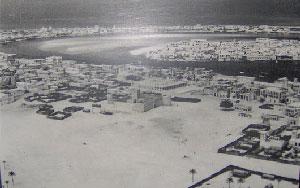 تصویری از سرزمین لم یزرع از کشور جدیدالتاسیس امارات عربی متحده