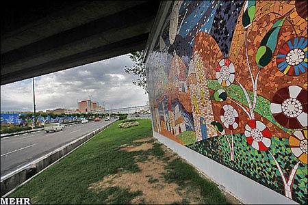 هانیه توسلی در  وب تخصصی لاله اسکندری - هنر نقاشی دیواری لاله اسکندری در ...
