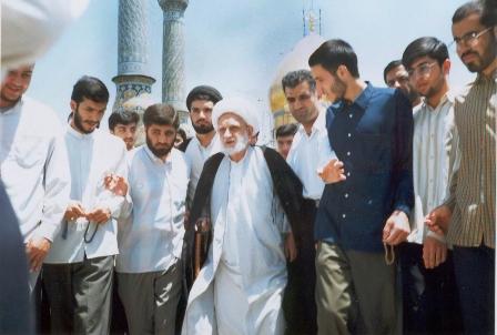 Image result for آیت الله بهجت + تابناک
