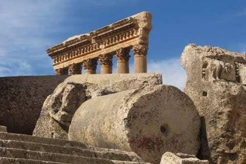 Image result for آثار تاریخی شهر بعلبک
