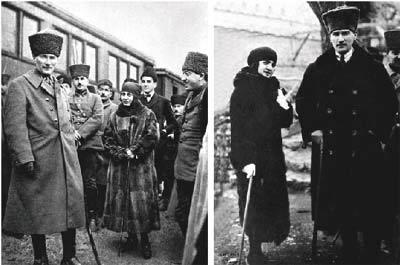همسر آتاتورک کشف حجاب عکس کشف حجاب سوابق رضا خان بیوگرافی آتاتورک Latife Hanım Atatürk