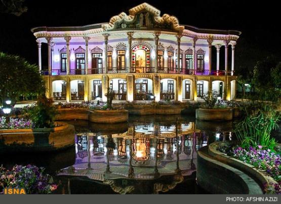 هواشناسي تصاویر: عمارت زیبای «شاپوری» در شیراز - تابناک | TABNAK