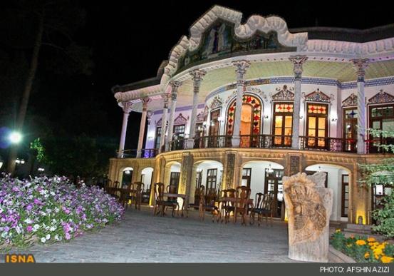 هواسناسی تصاویر: عمارت زیبای «شاپوری» در شیراز - تابناک | TABNAK
