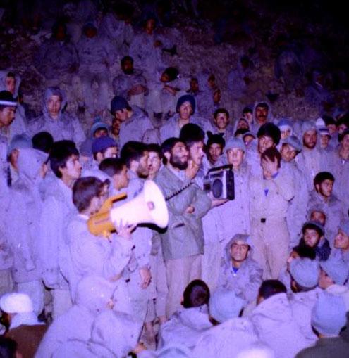 شهيد احمد کاظمي، دٌر غلطان سپاه