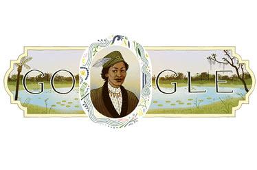 گوگل به تصویر یک زن نویسنده آراسته شد