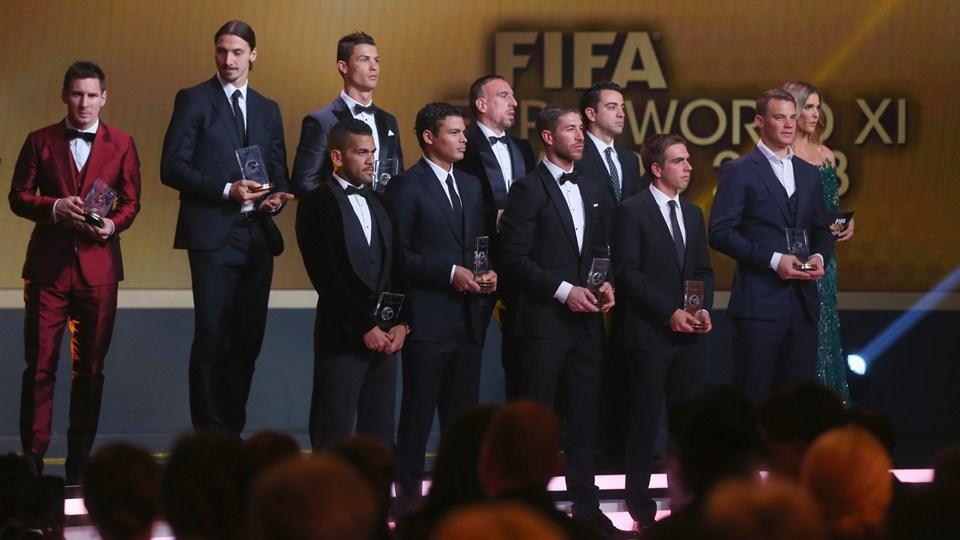 پخش زنده مراسم انتخاب برترینهای فوتبال جهان