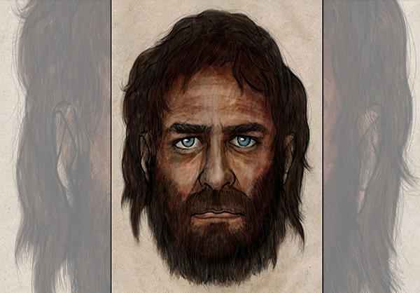 نمایی از چهره انسان ۷ هزار سال پیش+تصویر
