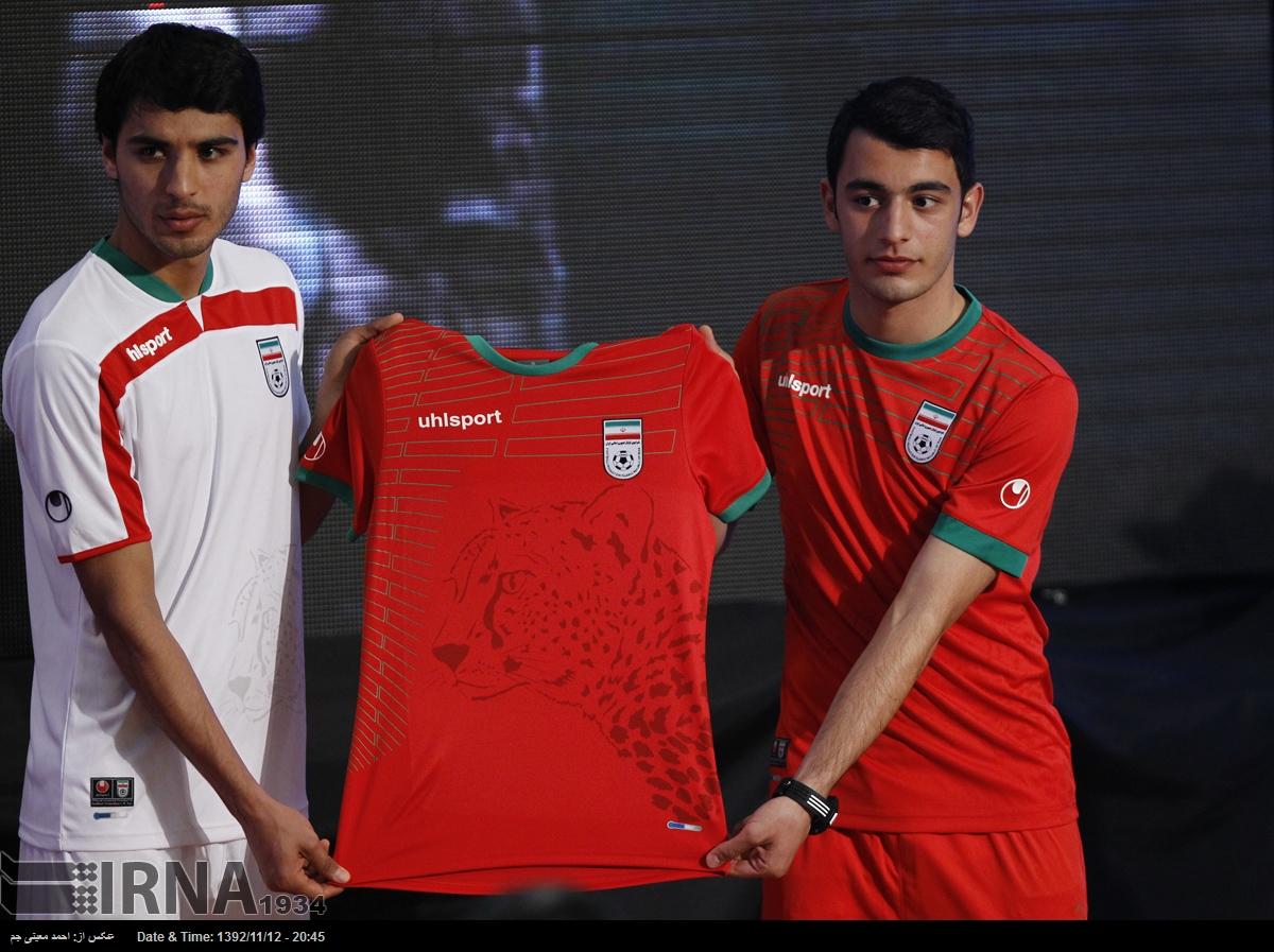 پیراهن تیم ملی در جام جهانی