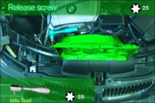 تعمیر خودرو با یک عینک واقعیت افزوده