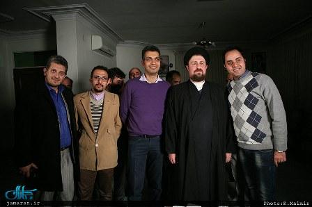 پشت صحنه برنامه «نود» با حضور سیدحسن خمینی
