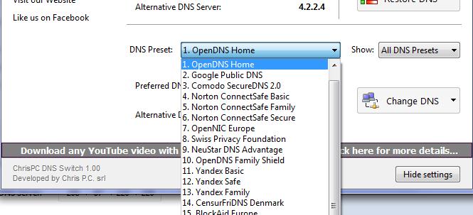 چگونه DNS خود را برای بهبود سرعت اینترنت تغییر دهیم؟