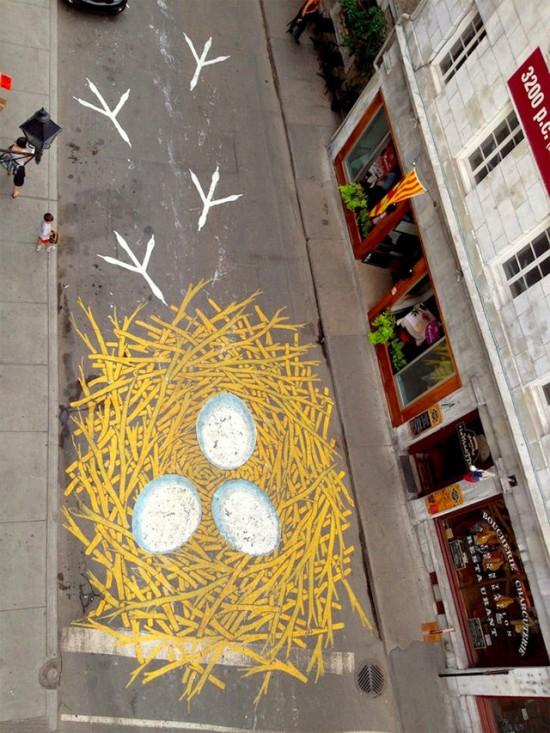 نقاشیهای زیبای خیابان