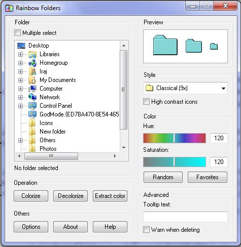 به سادگی رنگ پوشه ها را در ویندوز تغییر دهید!