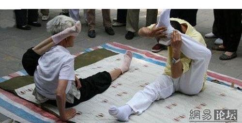 حرکات باور نکردنی پیرزن ۹۰ ساله