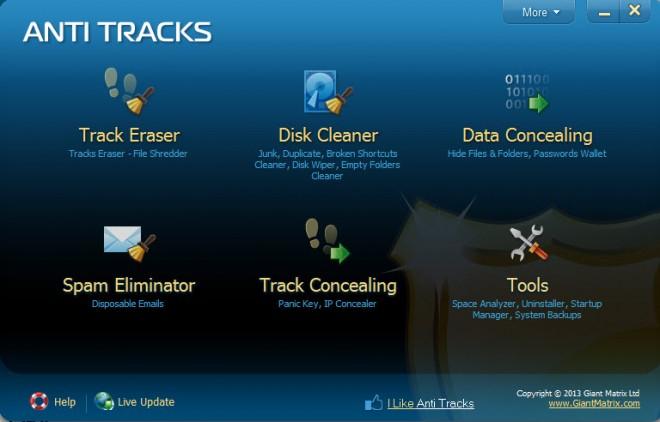 Anti Tracks: داده های شخصی خود را پاکسازی کنید