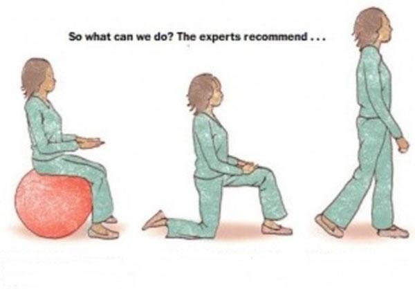 زیاد نشستن موجب سرطان میشود