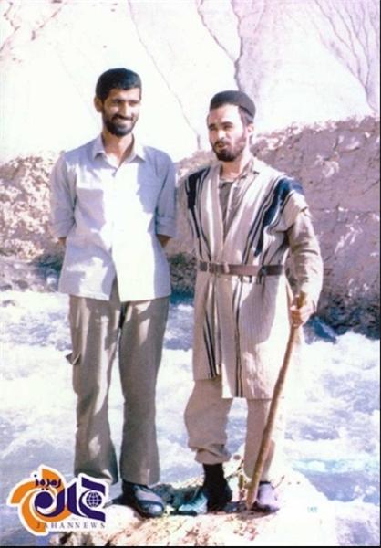 شهید خرازی در لباس بختیاری