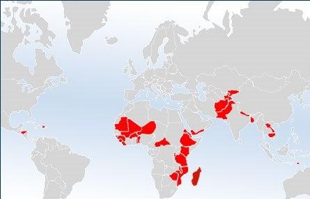 بدترین کشورها از نظر امنیت غذایی و جایگاه ایران