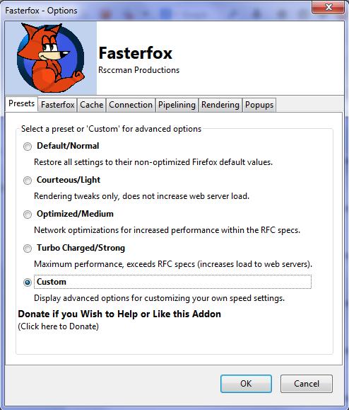 افزونه ای برای افزایش سرعت دانلود و وب گردی در فایرفاکس