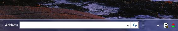 نکتههای ویندوز: اضافه کردن نوار آدرس مرورگر به Task bar ویندوز