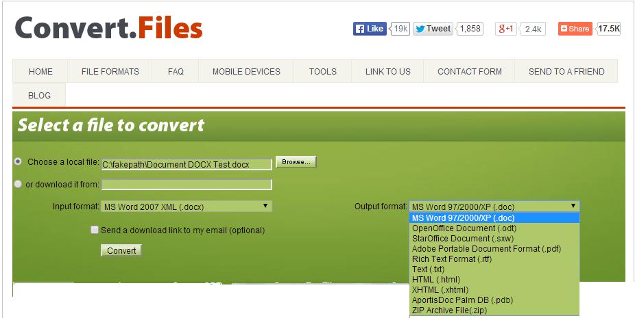 ابزاری آنلاین و رایگان برای تبدیل انواع فایل در هر فرمتی