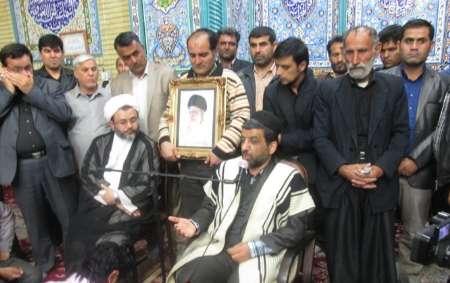 حضور غیر منتظره ضرغامی درشهرستان مسجدسلیمان