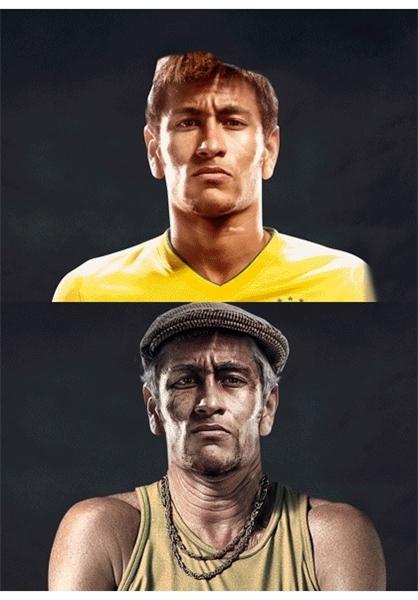 عکس نیمار فوتبالیست برزیل