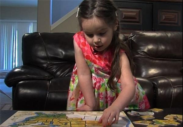 دختر ۳ ساله با ضریب هوشی «آلبرت انیشتین»