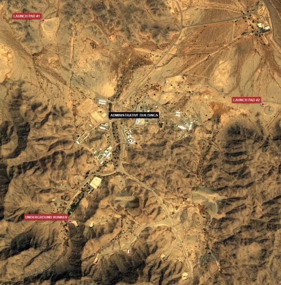 هدفگیری موشکهای عربستان سعودی علیه ایران + عکس