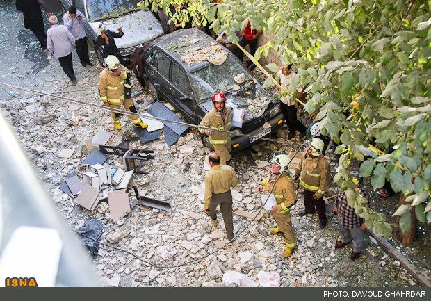 انفجار شدید منزل مسکونی را لرزاند + عکس