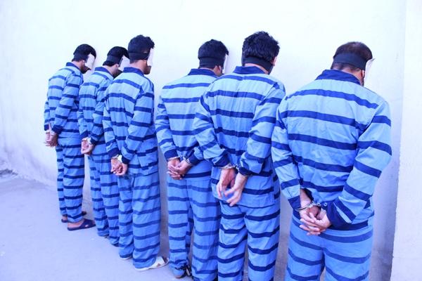 افشاي يكحادثه تكاندهنده و اعدام 6 مجرم