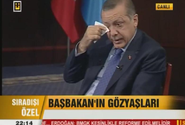 اردوغان برای چه کسی اشک میریزد؟ + فیلم