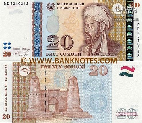 تصویر «سعدی» روی پول ملی تاجیکستان