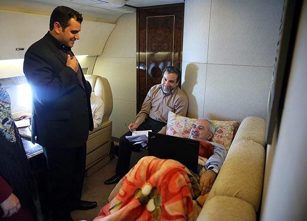 کمردرد ظریف در هواپیما عود کرد