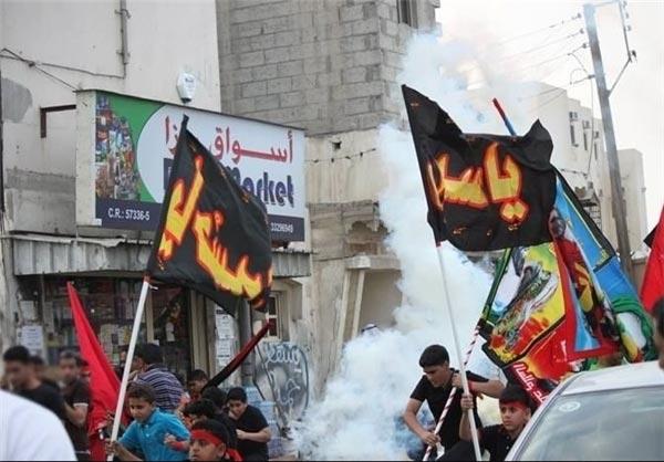 حمله نیروهای آلخلیفه به مراسم عزاداری امام حسین