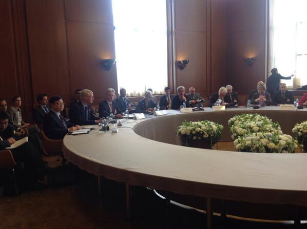 دور جدید مذاکرات ایران و ۵+۱ آغاز شد