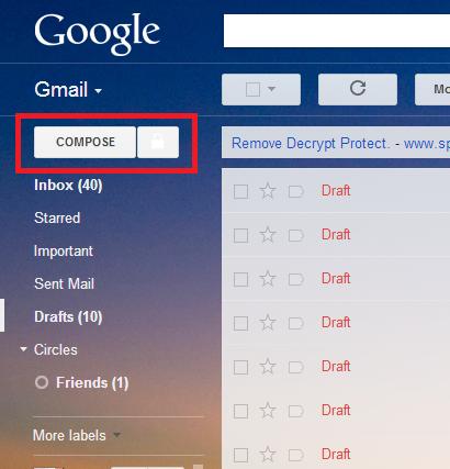 جی میل خود را رمز گذاری کنید...!