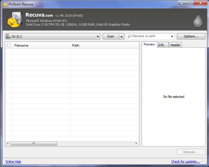 فایلهای پاک شده و از دست رفته را زنده کنید