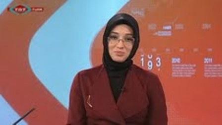 اولین مجری محجبه در تلویزیون ترکیه