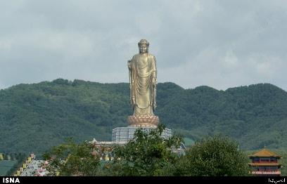 بلندترین مجسمه جهان در چین