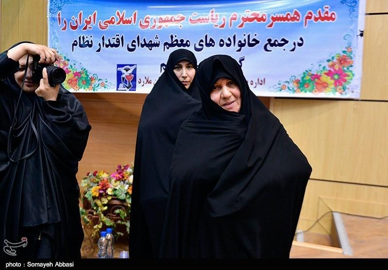 عکس همسر روحانی رئیس جمهور