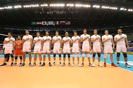 پیروزی تاریخی تیم ملی والیبال ایران برابر آمریکا
