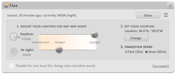نرم افزاری هوشمند برای محافظت از چشمان شما