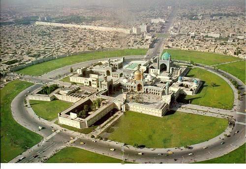حرم امام رضا (ع)۴۰ سال پیش